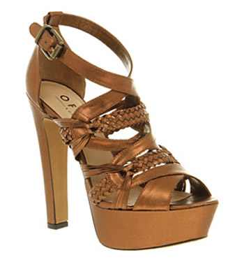 Womens-Office-Celia-Bow-Dolly-Bronze-Synthetic-Heels-Shoes