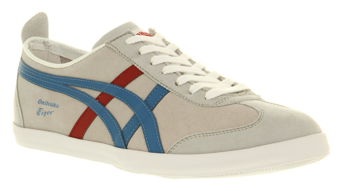 Mens-Onitsuka-Tiger-Mexico-66-Vulcanized-Glacier-Grey-Blue-Suede-Trainer-Shoes