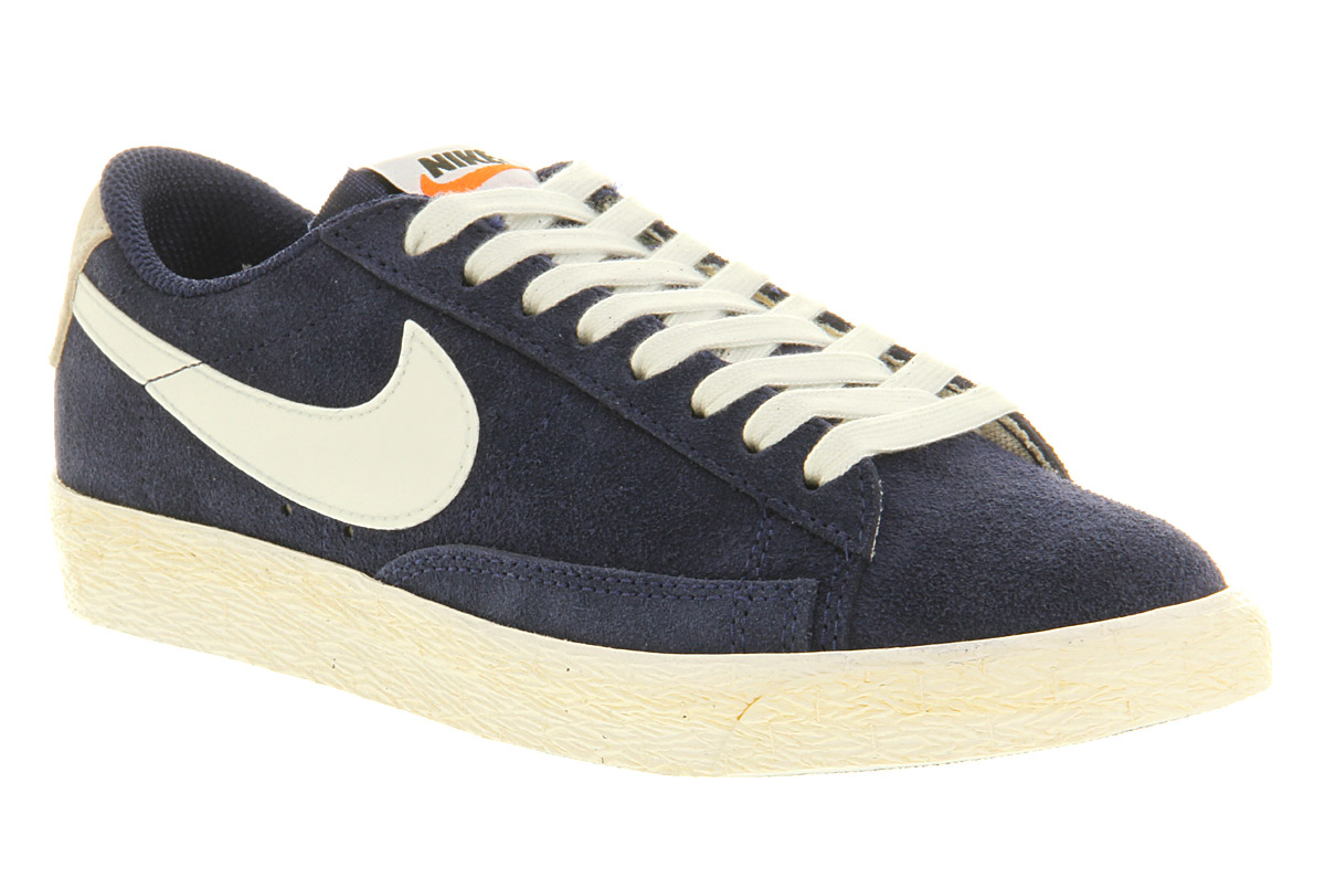 nike blazer low vintage blue