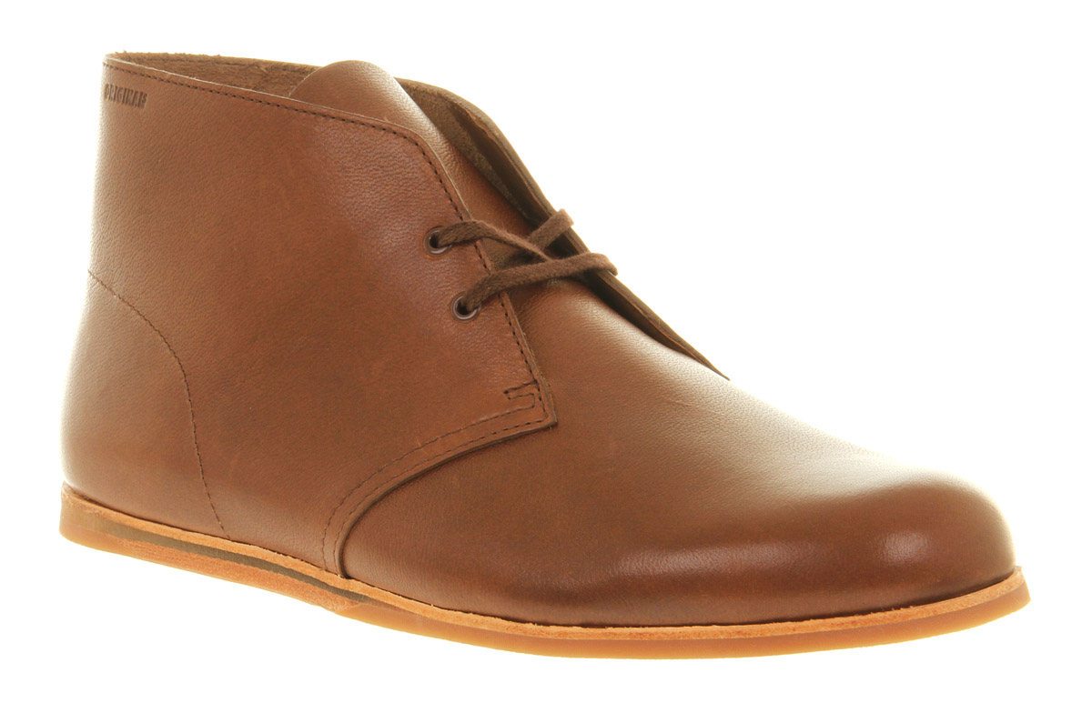 Mens-Clarks-Originals-Drift-Desert-Brown-Leather-Lace-Up-Ankle-Boots