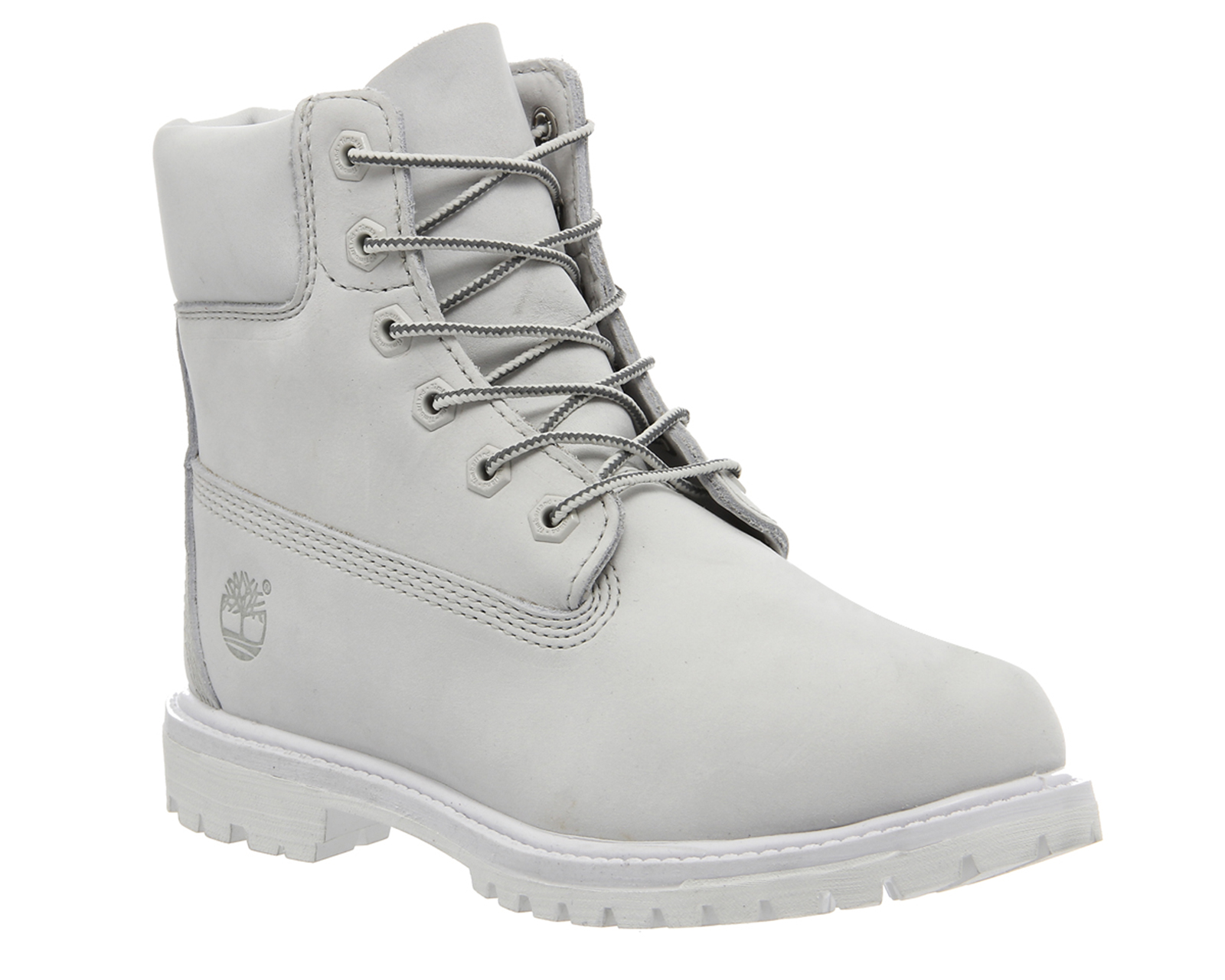 womens timberland premium 6 boot white mono nubuck boots. Black Bedroom Furniture Sets. Home Design Ideas