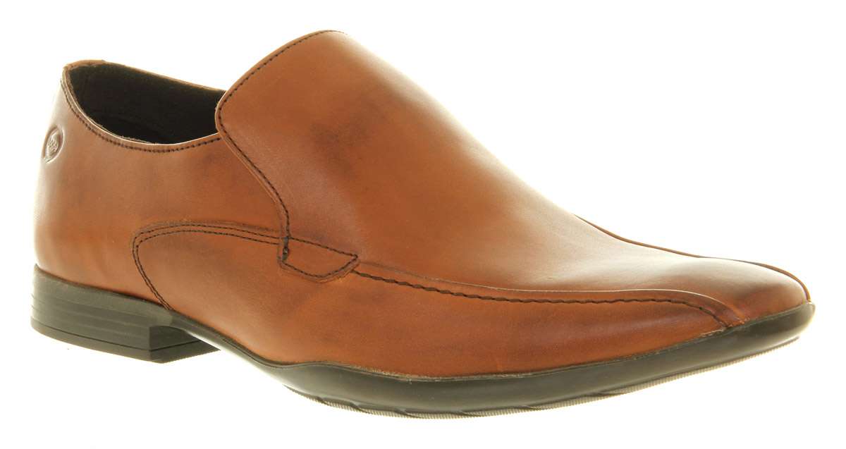 Mens-Base-Zodiac-Loafer-Tan-Leather-Formal-Shoes