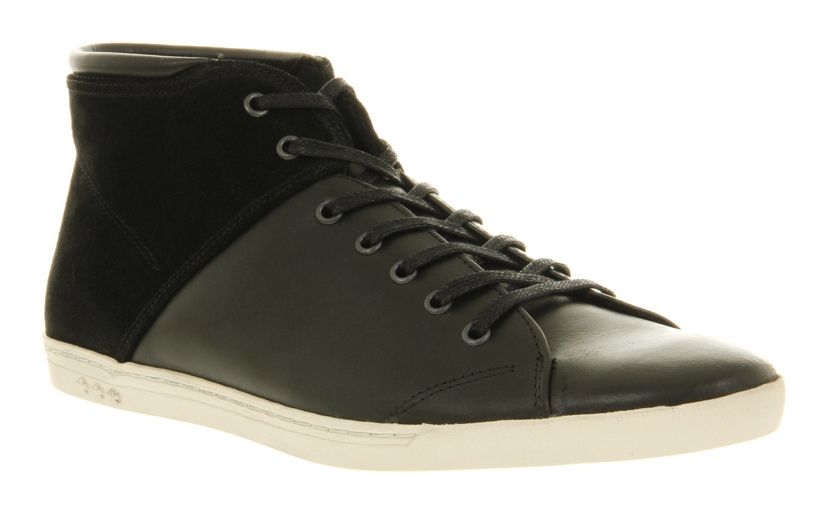 Mens-Swear-Iggy-34-Seven-Eye-Black-Leather-Casual-Shoes
