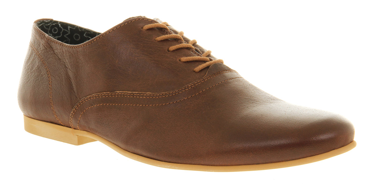 Mens-Ask-The-Missus-Vulcan-Oxford-Lace-Brown-Casual-Shoes