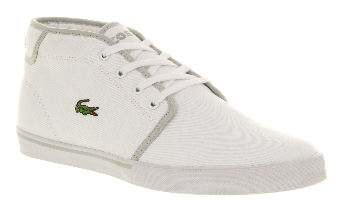 Locoste White Shoes