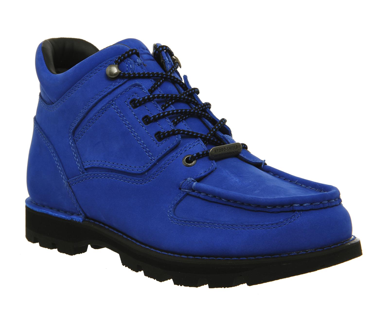 Mens-Rockport-Umbwe-Boots-ROYAL-BLUE-SUEDE-Boots
