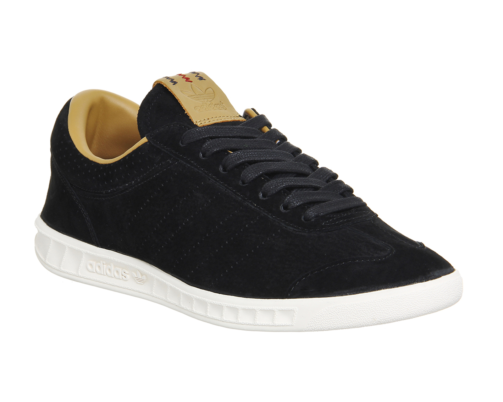 Adidas Hamburg Freizeit Black Trainers Shoes Ebay