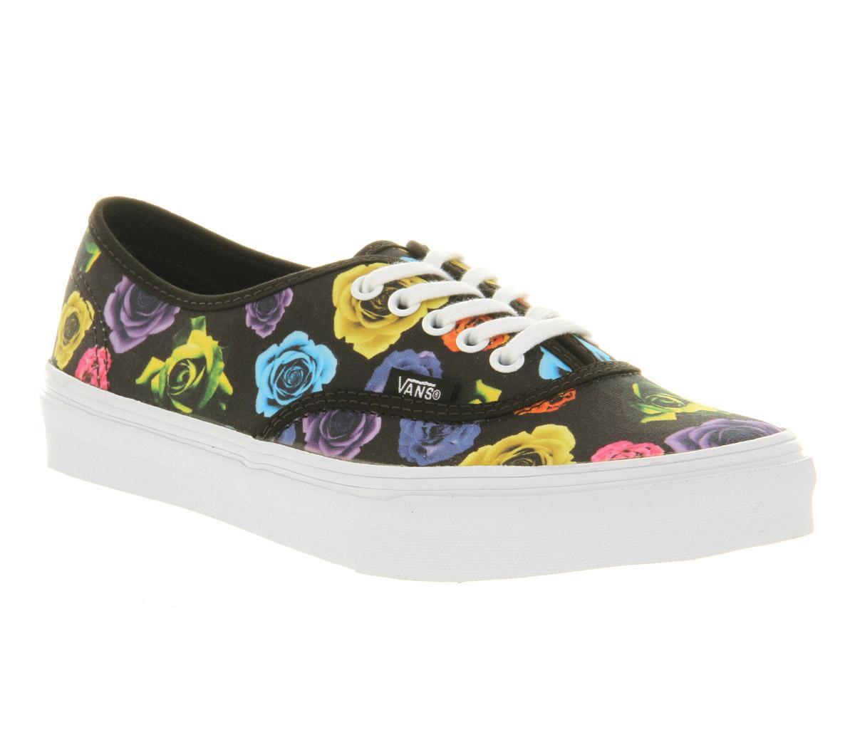 Vans-Authentic-Slim-Rose-Black-Trainers-Shoes