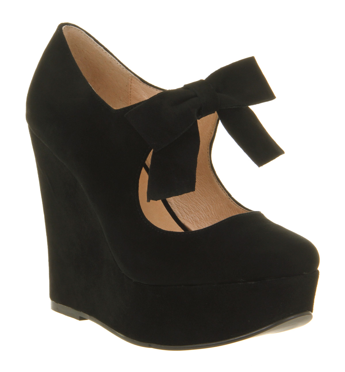 Black Wedges Heels