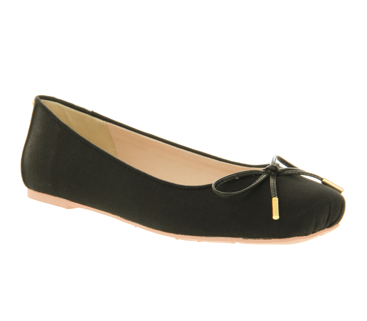 Simple Black Flat Sandals For Women Pour La Victoire39s Black