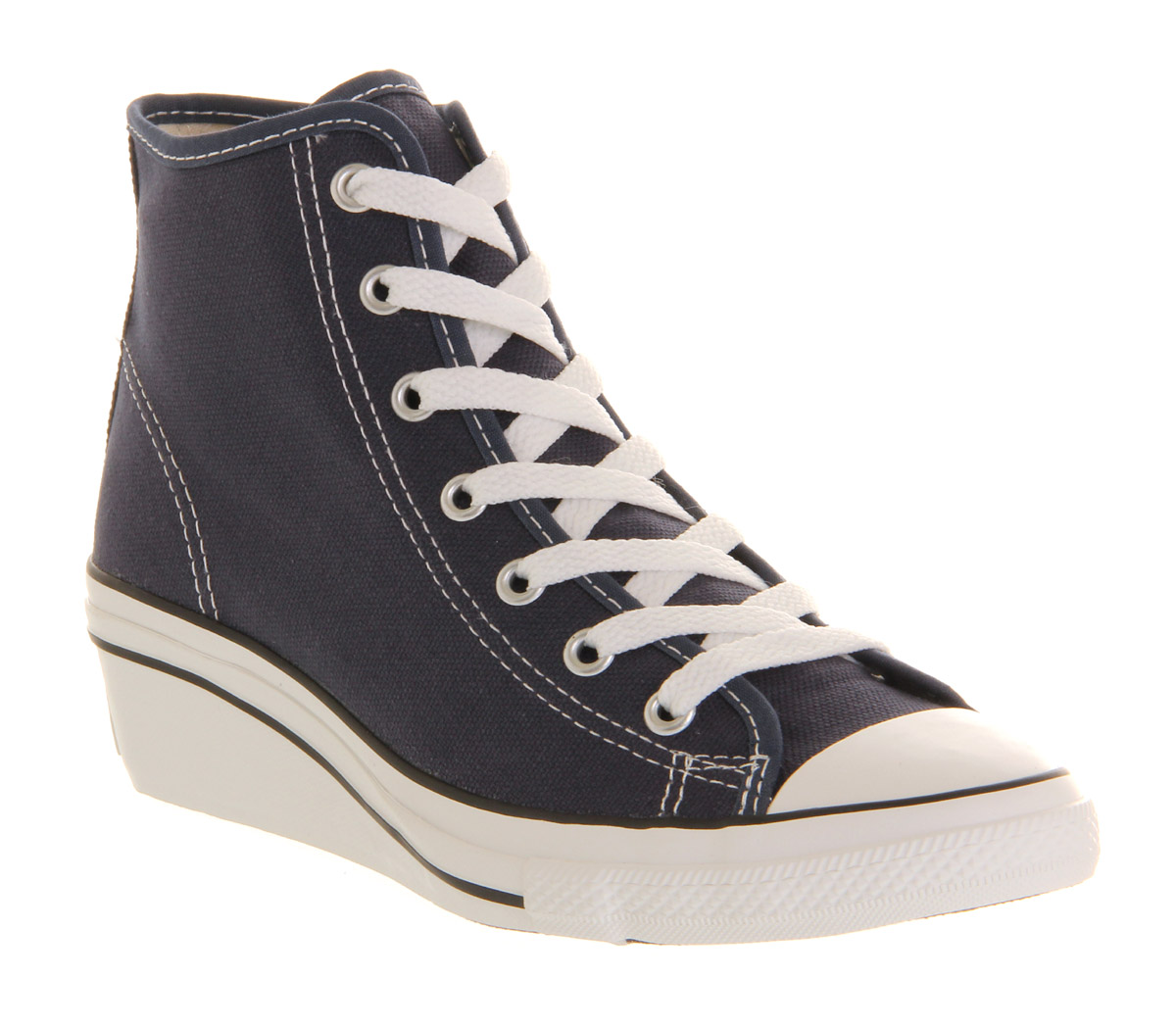 Womens-Converse-All-Star-Hi-ness-Navy-Trainers-Shoes