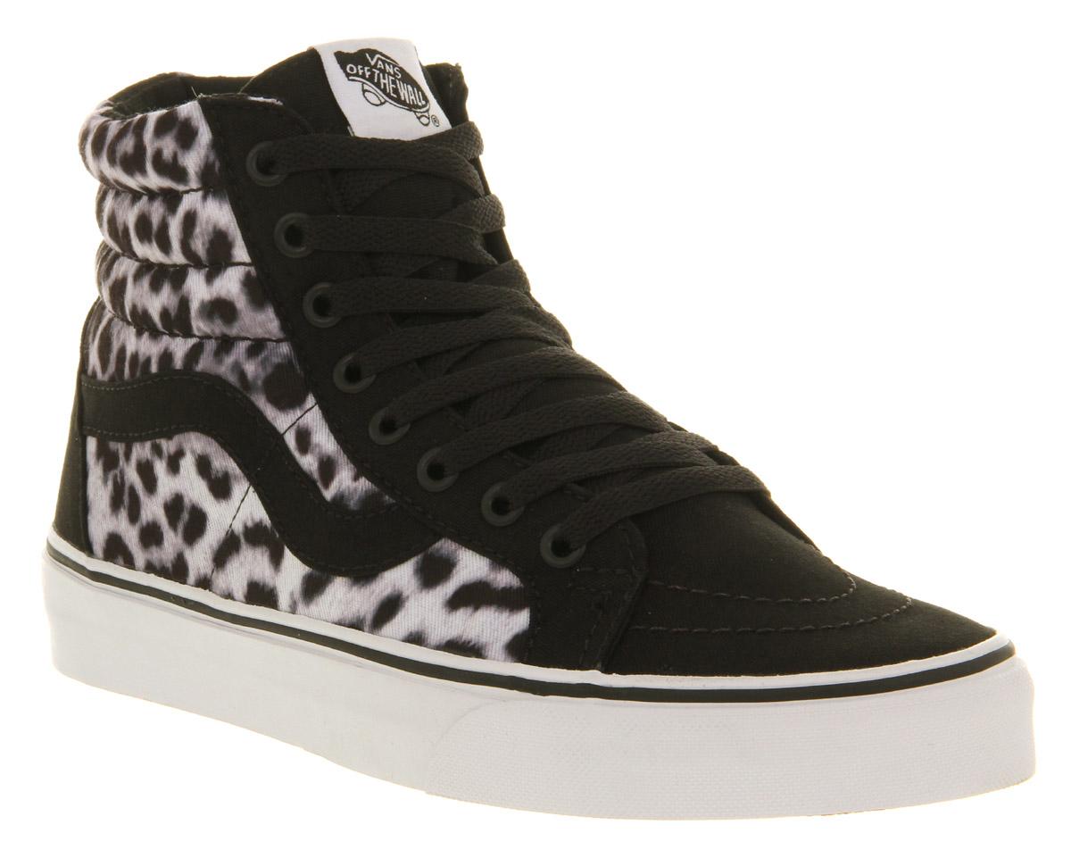 vans sk8 hi leopard