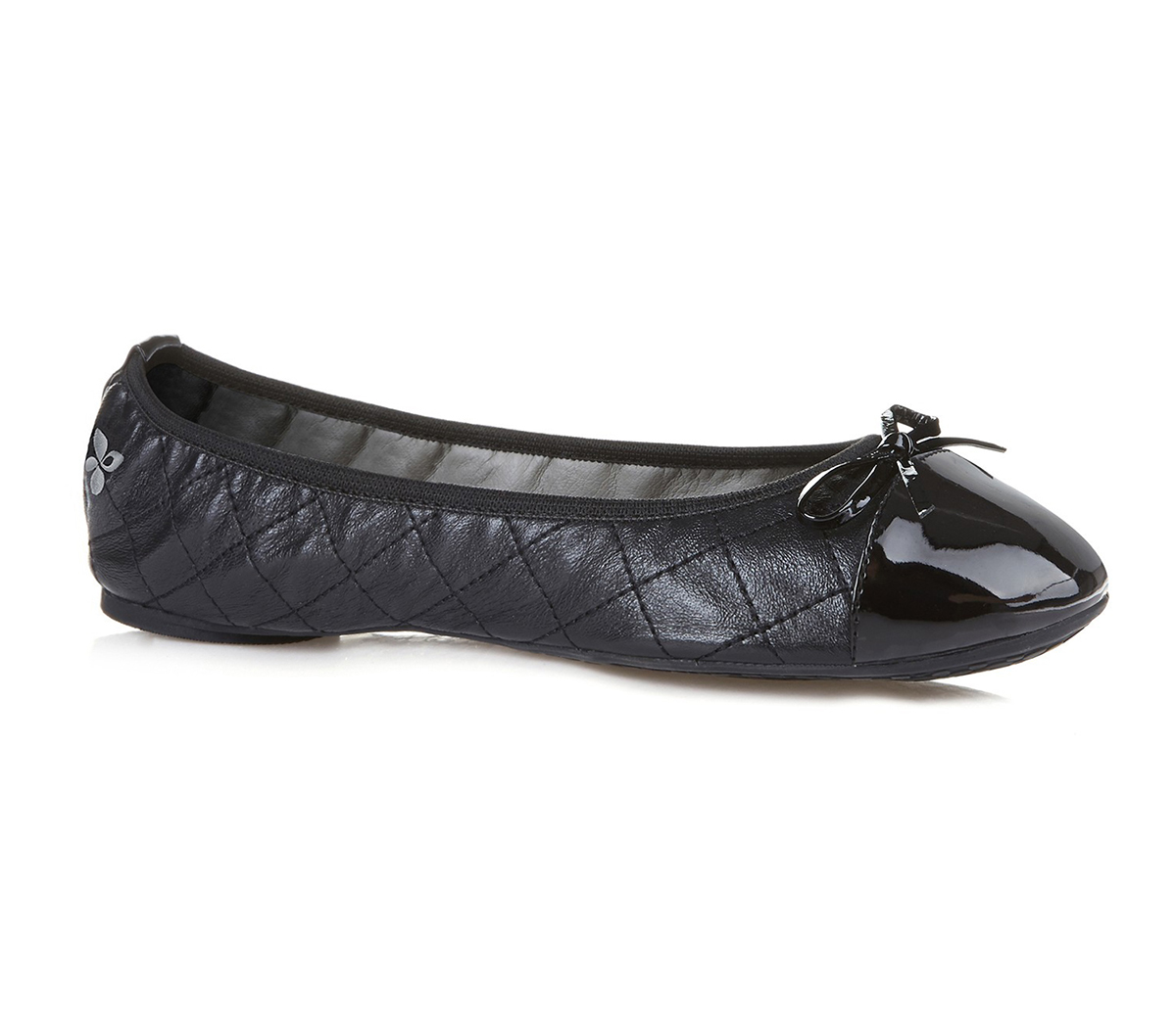 Womens-Butterfly-Twists-Quilted-Olivia-Black-Flats