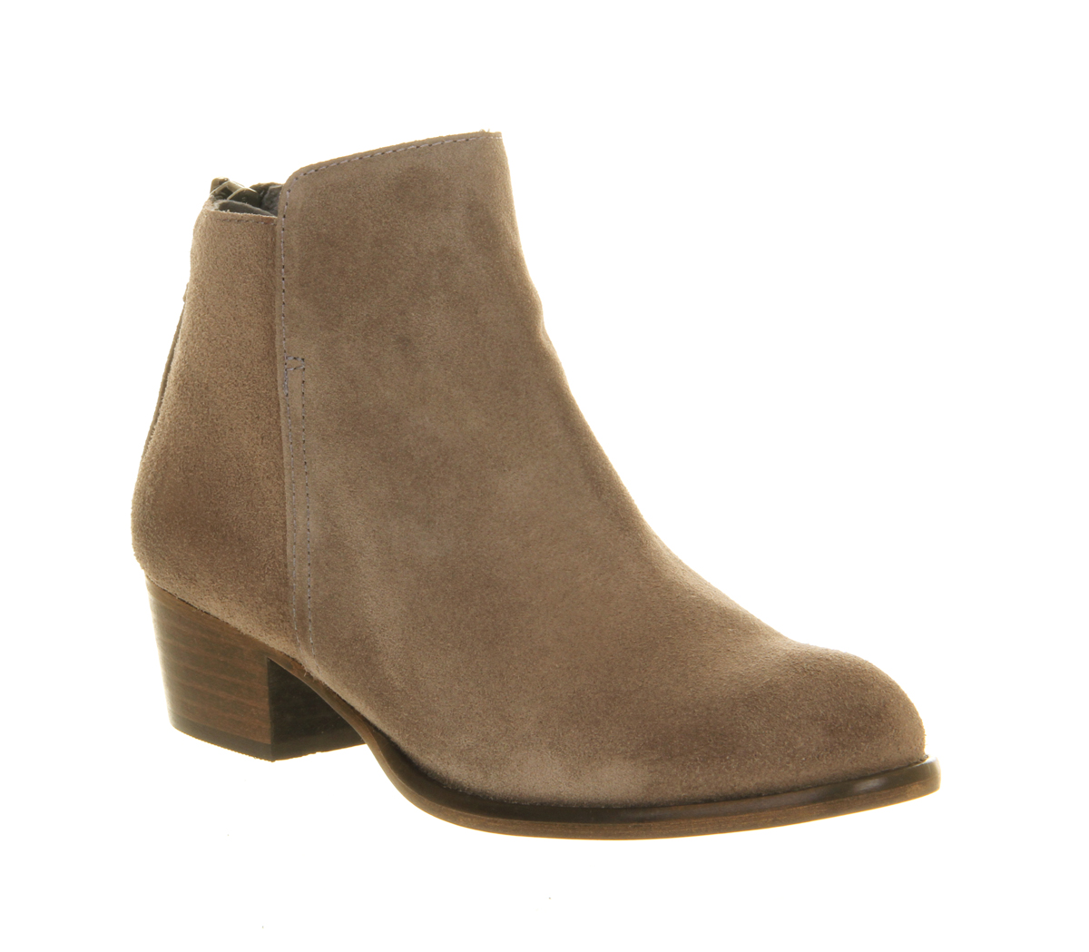 womens office uncanny grey suede boots