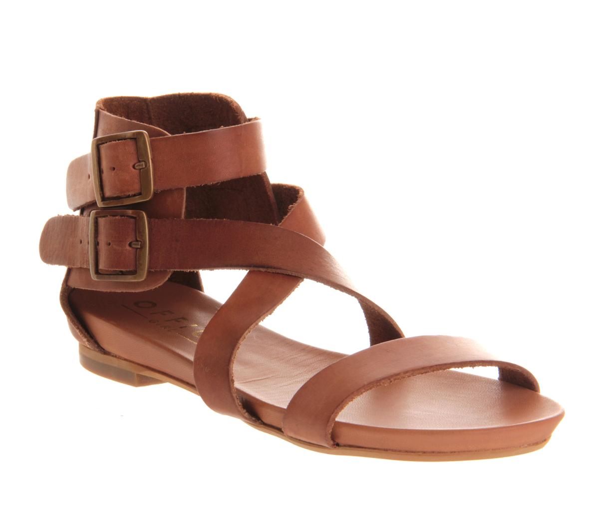 Wonderful Handmade Dark Brown Flat Sandals For Women Real Italian Leather | Gianluca - The Leather Craftsman