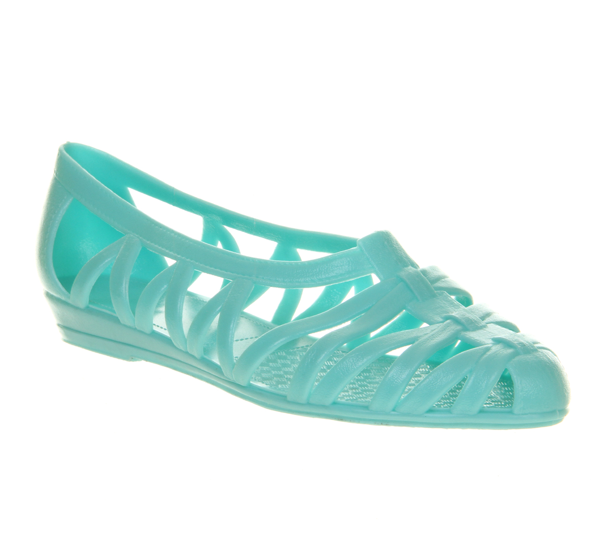 womens juju juju jelly mint sandals ebay