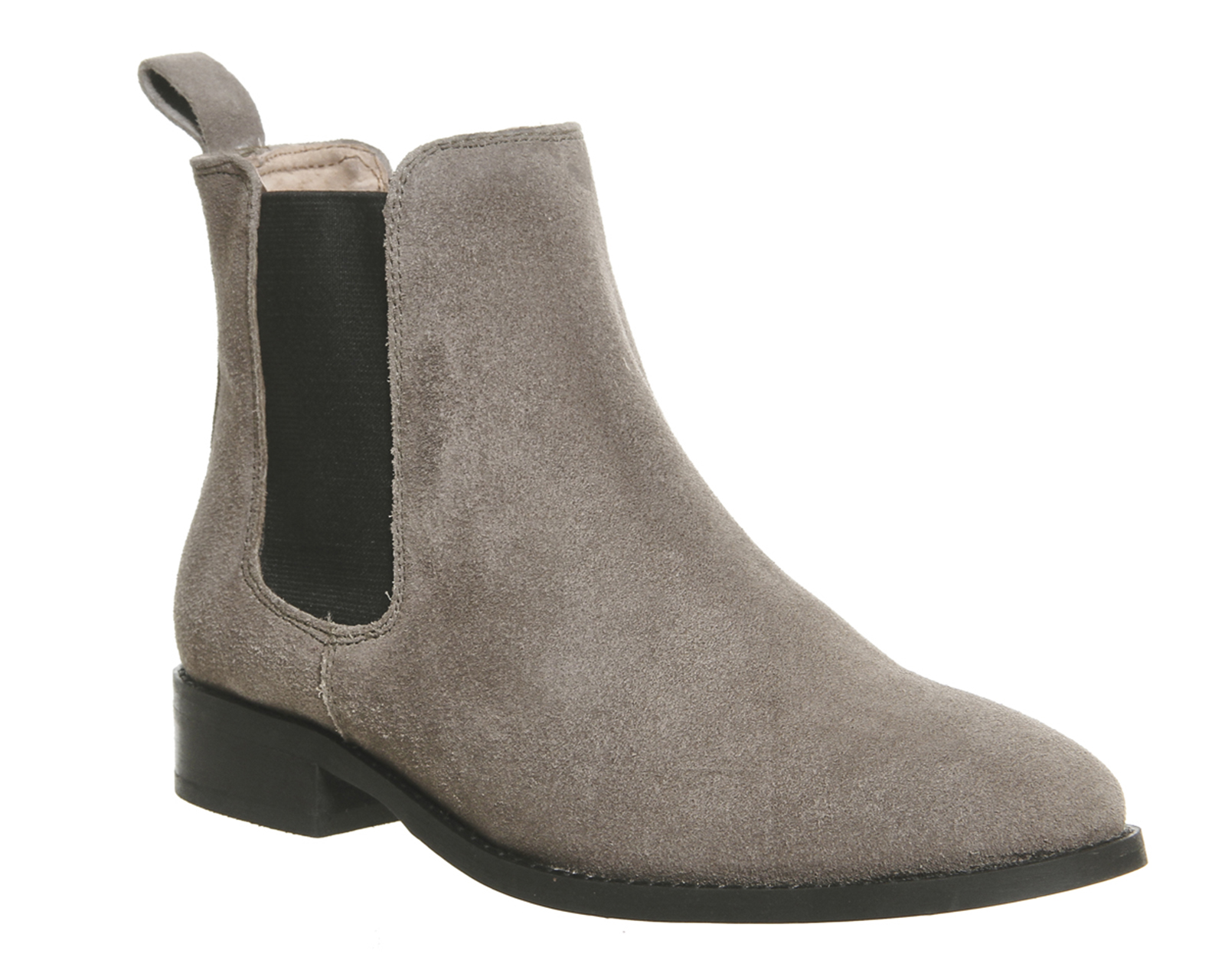 womens office grey suede ankle boots uk size 8 ex display