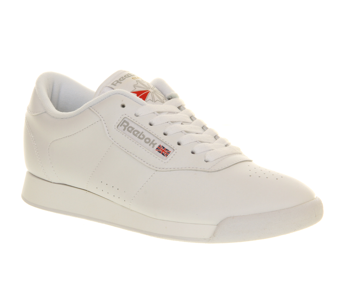 Womens leather trainer shoes