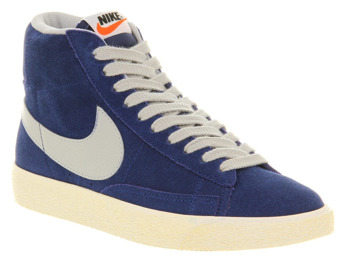 nike blazer high top trainers