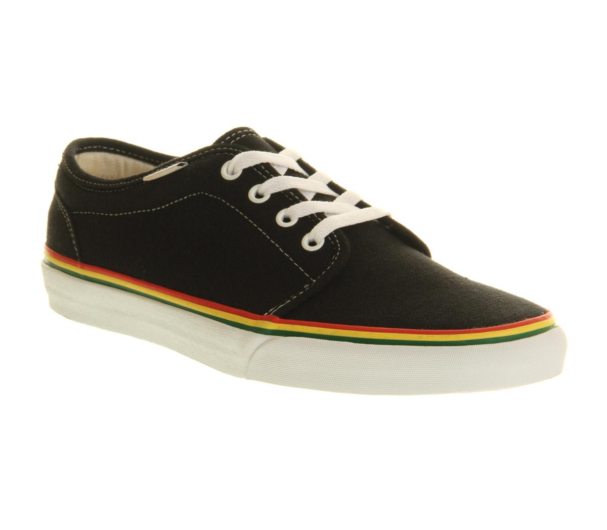 Vans Hemp Shoes Rasta