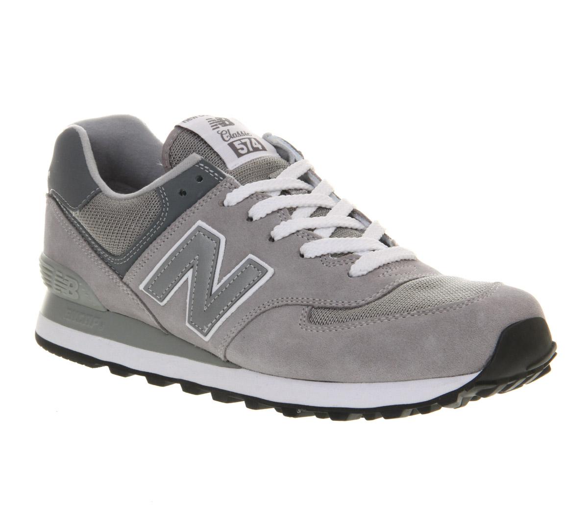 new balance m 574 Grey