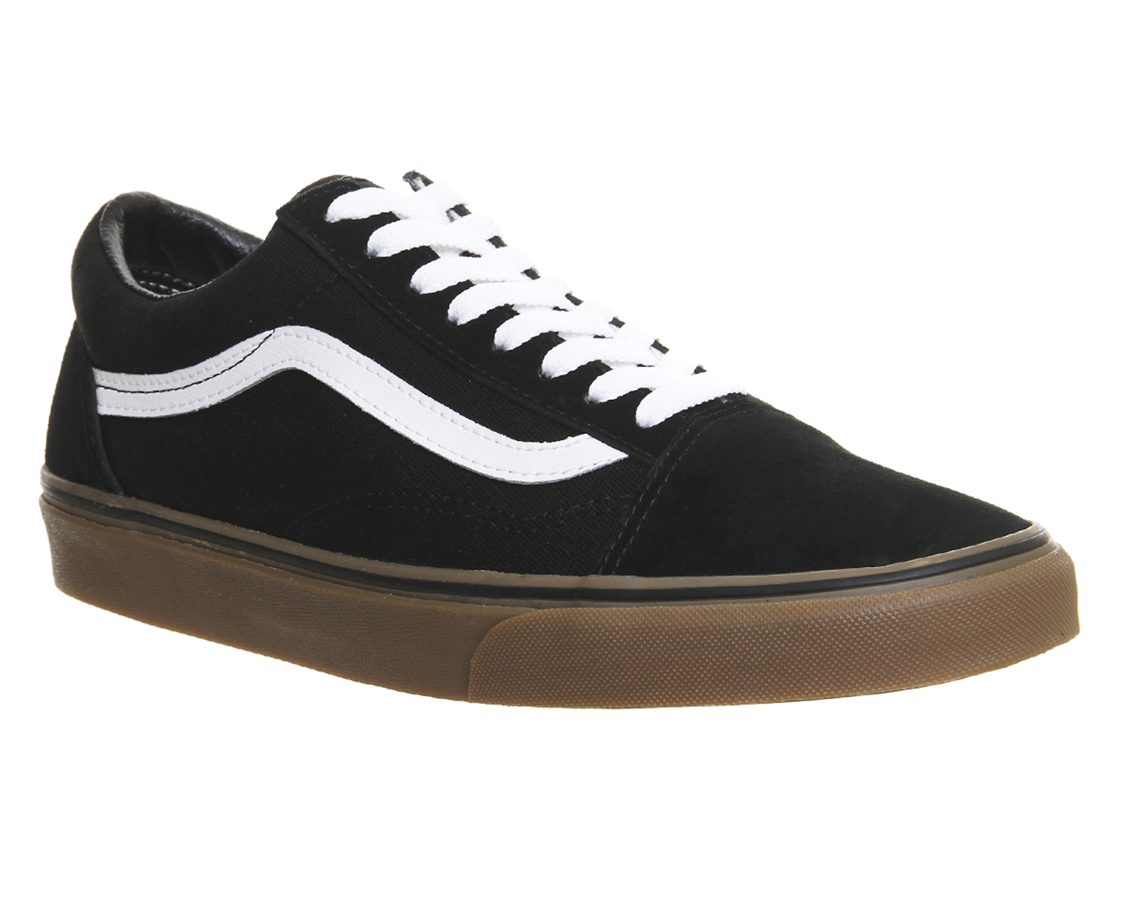 mens vans black old skool trainers  UP to 65% off a558a0808