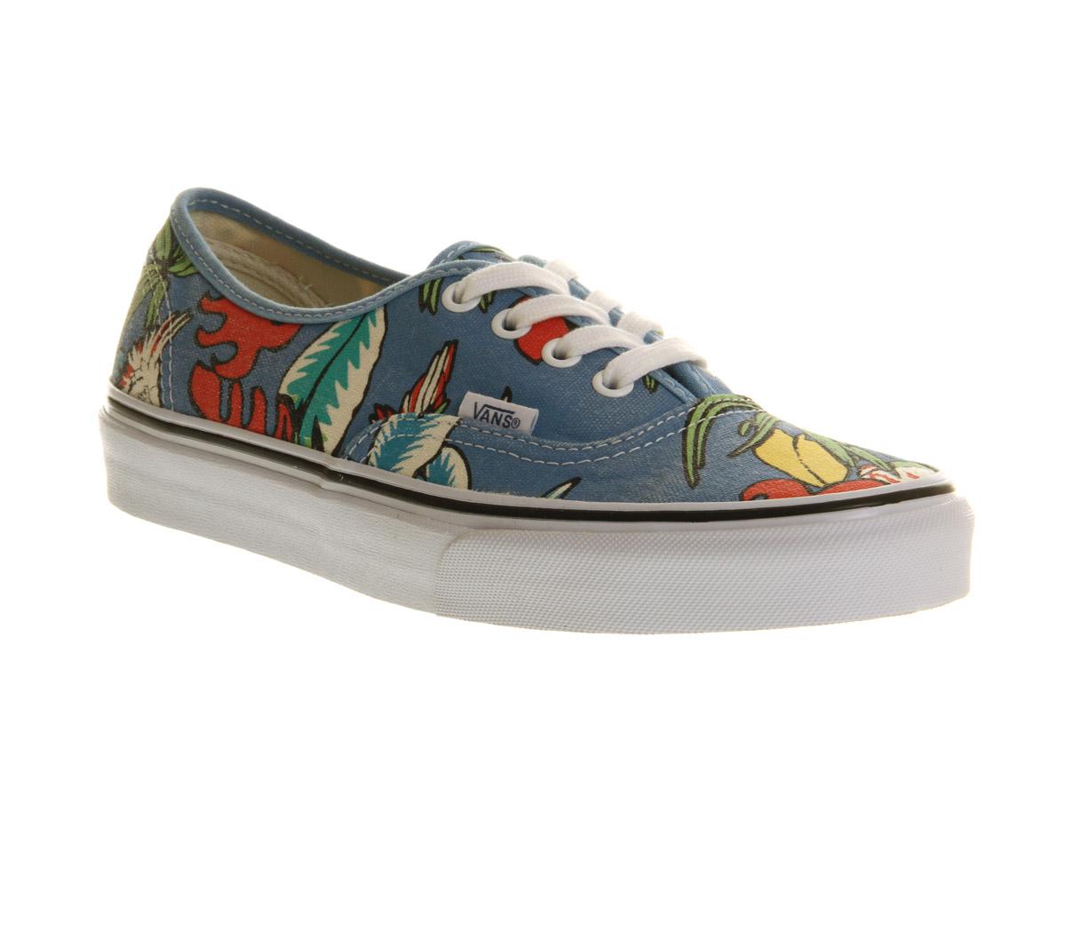Blue Parrot Shoes