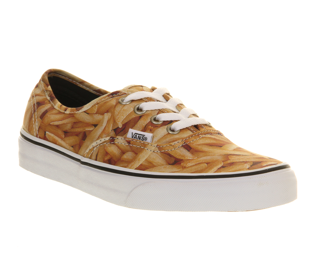 Vans authentic french fries smu exclusive trainers shoes for Fish and chips shoes