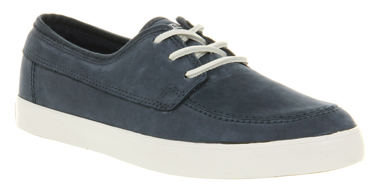 mens converse sea ls dress blue trainers shoes size 9
