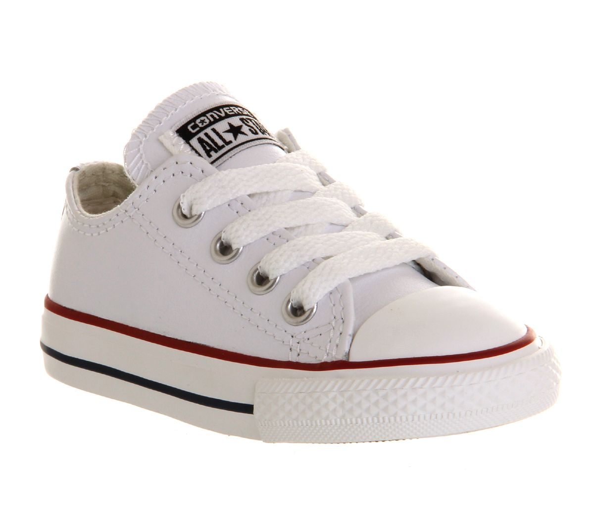 Kids Converse All Star Low Infant Shoes OPTICAL WHITE ...