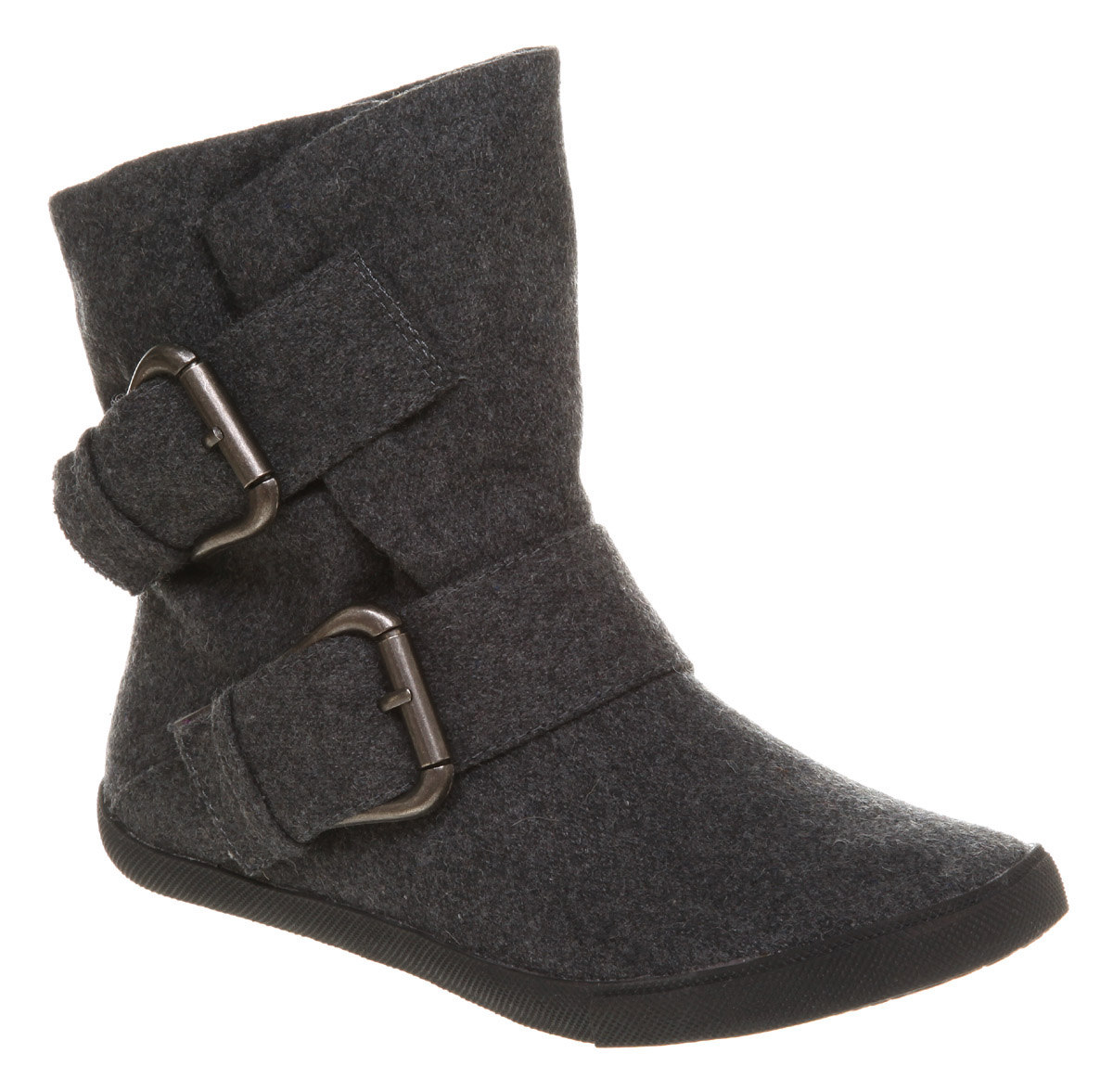 womens blowfish hold em pirate ankle boot grey 2 tone