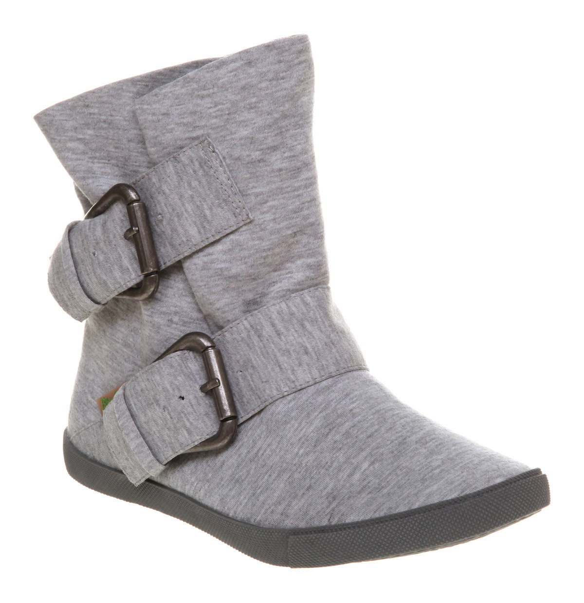 womens blowfish hold em pirate ankle boot grey marl smu