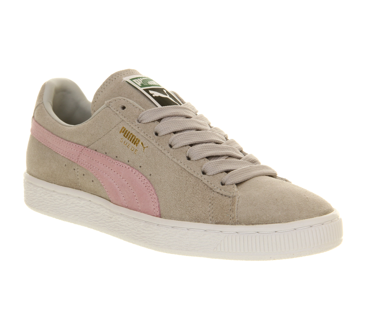 Puma-Suede-Classic-Grey-Violet-Pink-Trainers-Shoes
