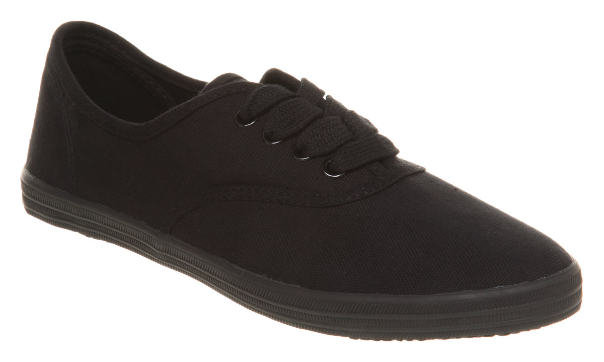 Your girl will love the Faded Glory Girls' Hillary Canvas Lace-up Sneaker. This sneaker is an easy wear and match for pants, dresses, or shorts. It features lace-ups, a pull tab, and padded footbed/5().