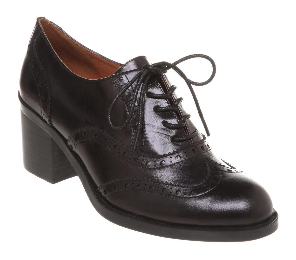 Women s Brogues Shoes Black