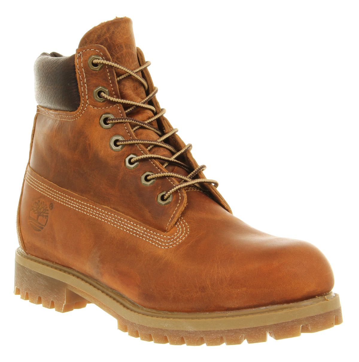 mens timberland 6 in vintage boot burnt orange boots