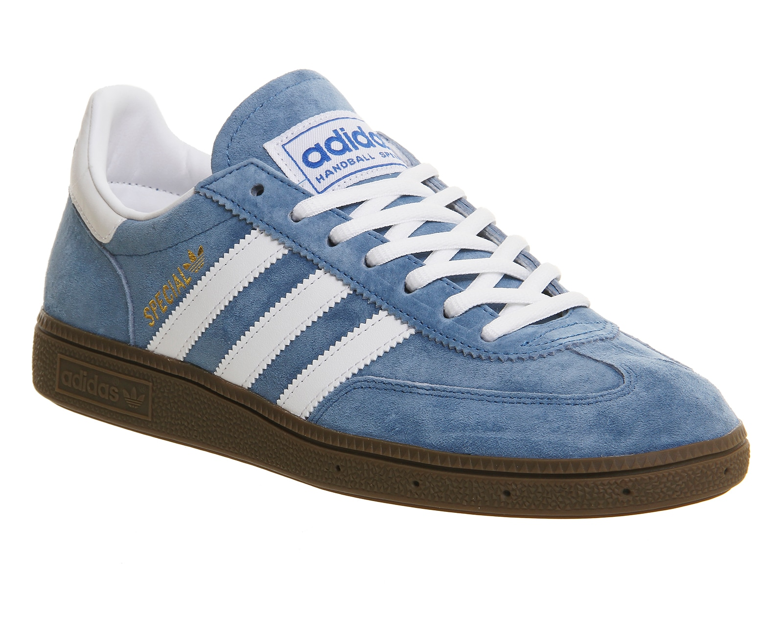 adidas handball spezial blue running white trainers shoes. Black Bedroom Furniture Sets. Home Design Ideas