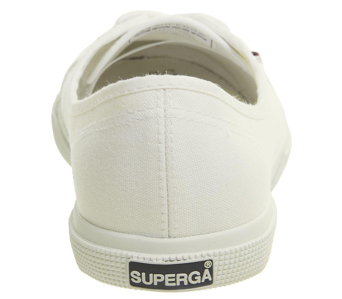 Zapatillas para mujer Superga 2211 Blanco Blanco Zapatillas Zapatos