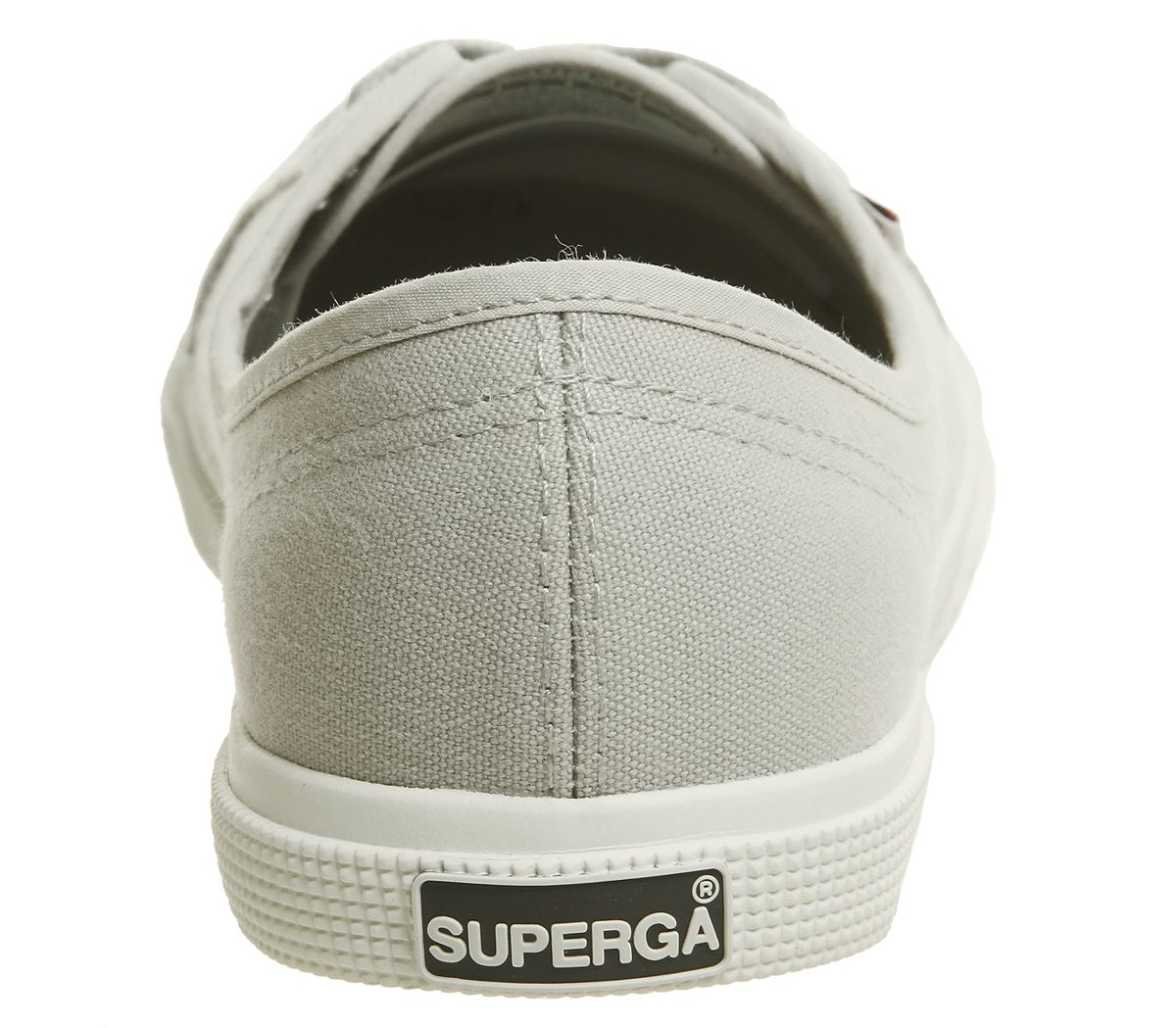 Womens Superga 2211 Trainers Grey White Trainers Shoes
