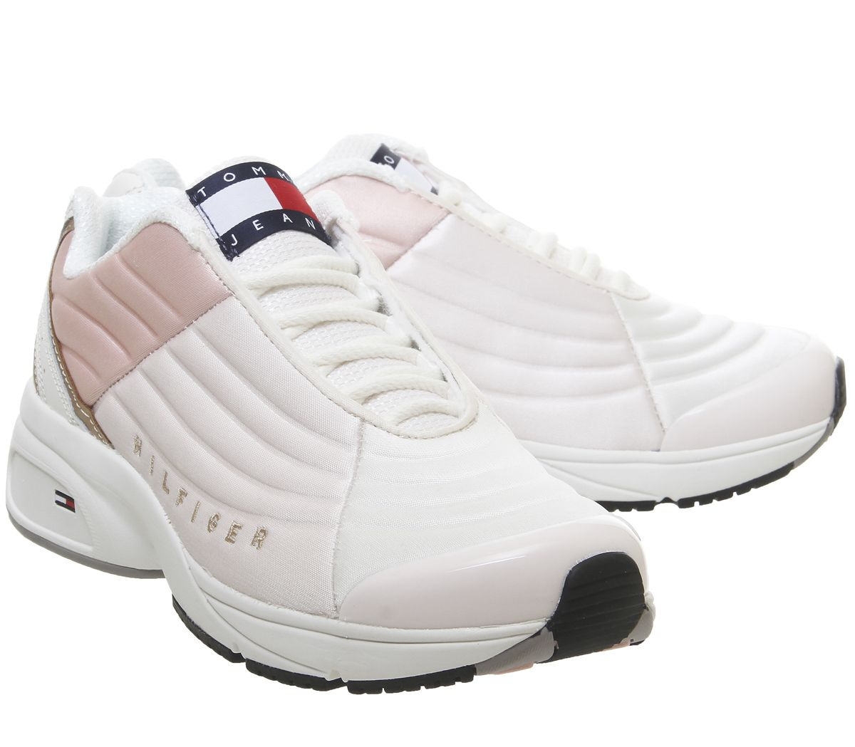 Womens Tommy Hilfiger Phil Trainers Delicacy F Trainers Shoes
