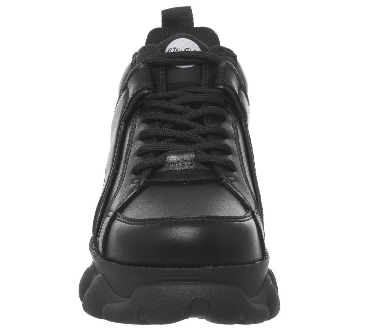 Womens Buffalo Corin Sneakers Black Trainers Shoes