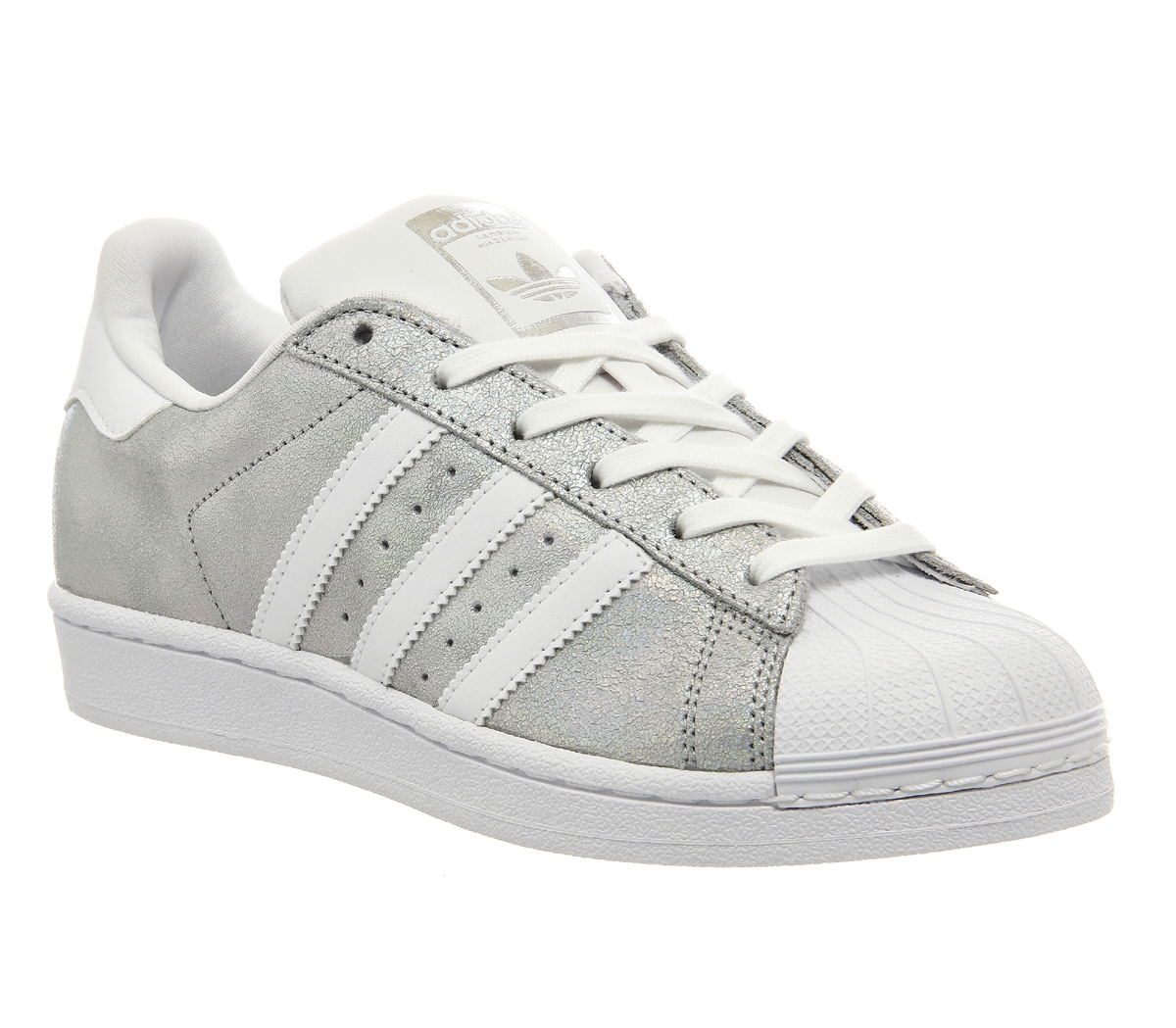 adidas superstar 2 holographic silver w trainers shoes. Black Bedroom Furniture Sets. Home Design Ideas