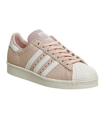 adidas superstar 80s low blush