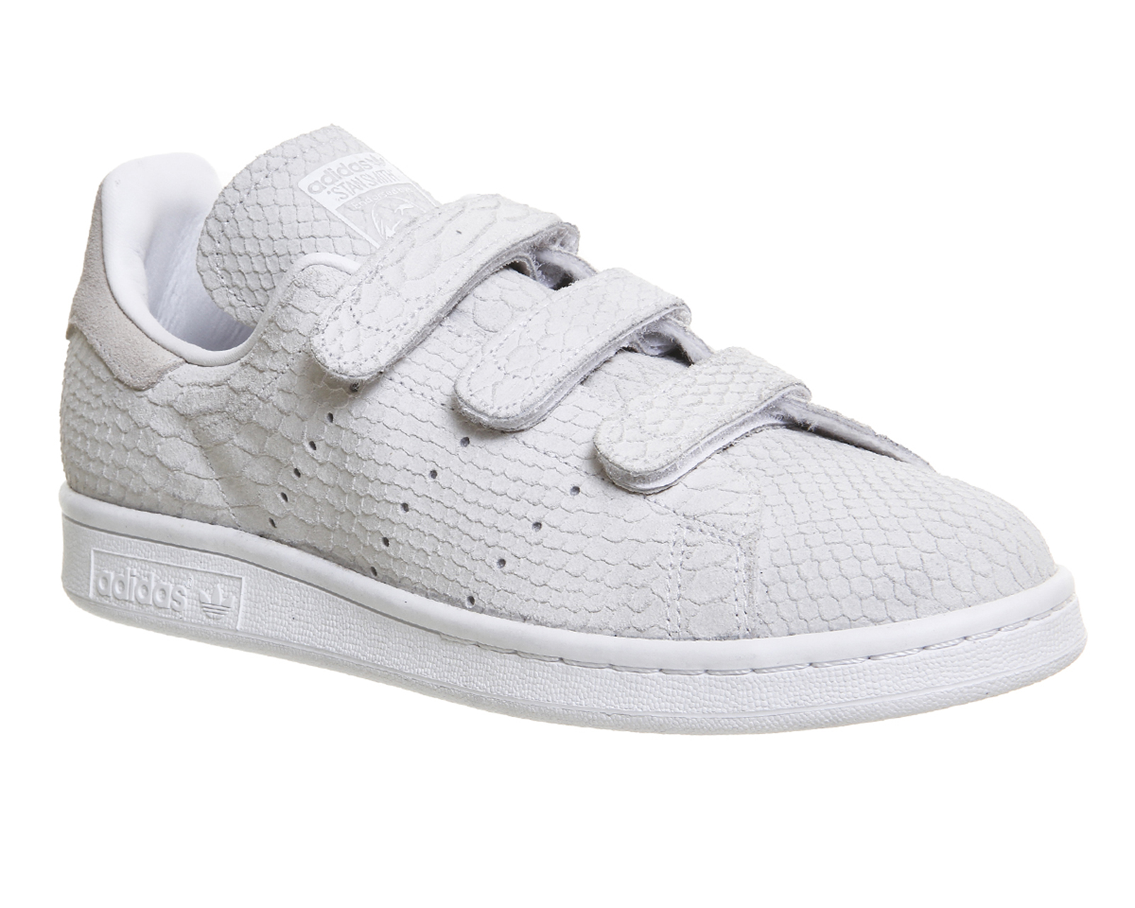 details about mens adidas stan smith cf trainers triple white trainers. Black Bedroom Furniture Sets. Home Design Ideas