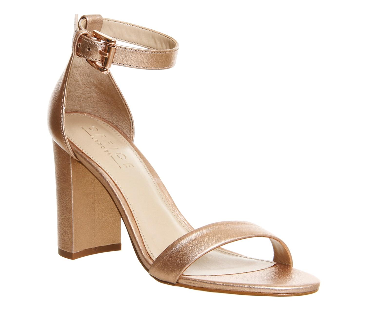 Womens-Office-Nina-Block-Heel-Sandals-ROSE-GOLD-