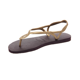 Womens-Havaianas-Luna-AUBERGINE-GOLD-Sandals