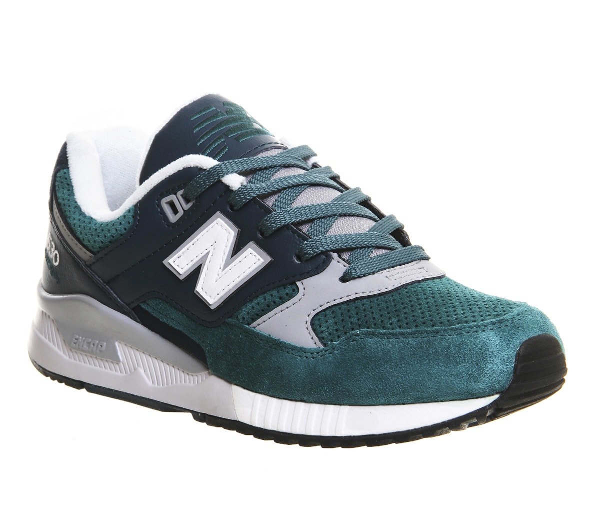 new balance green trainers