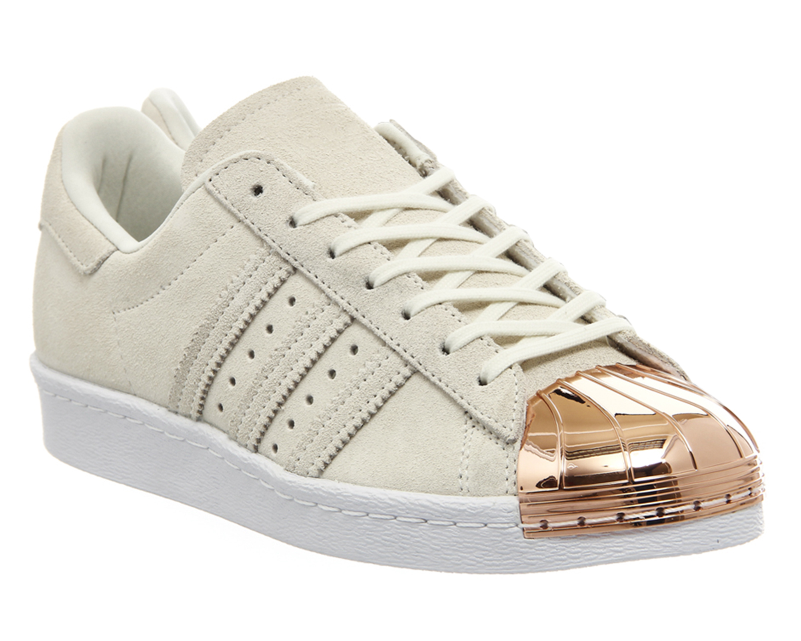 adidas superstar 80 39 s metal toe w off white rose gold. Black Bedroom Furniture Sets. Home Design Ideas
