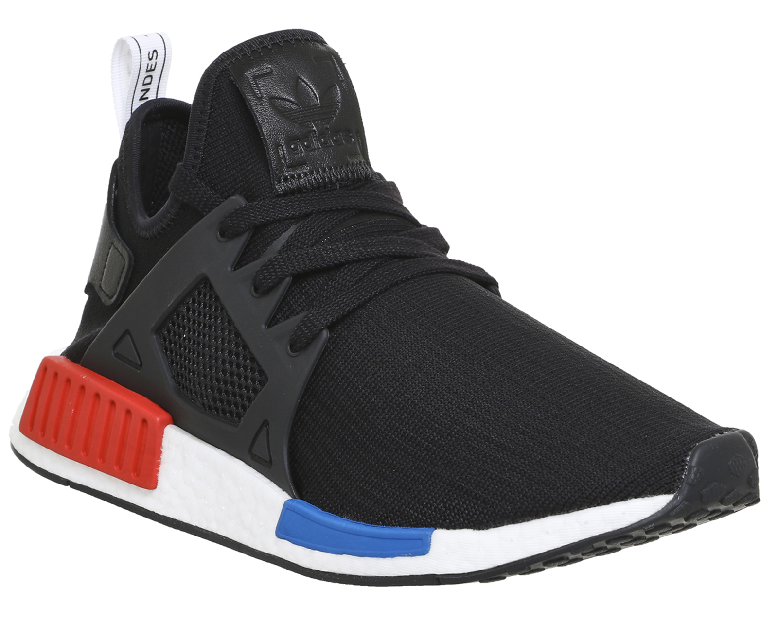 S32216 Adidas Nmd Xr1 Pk Glitch Camo White Red Primeknit Us 12.5