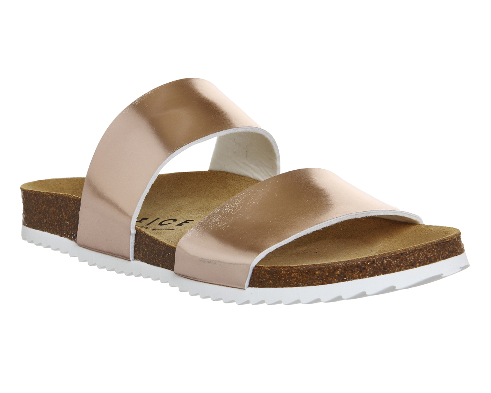 Womens Office Oslo 2 Rose Gold Sandals